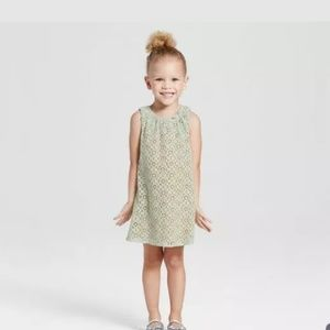 Victoria Beckham for TARGET green lace DRESS 5T
